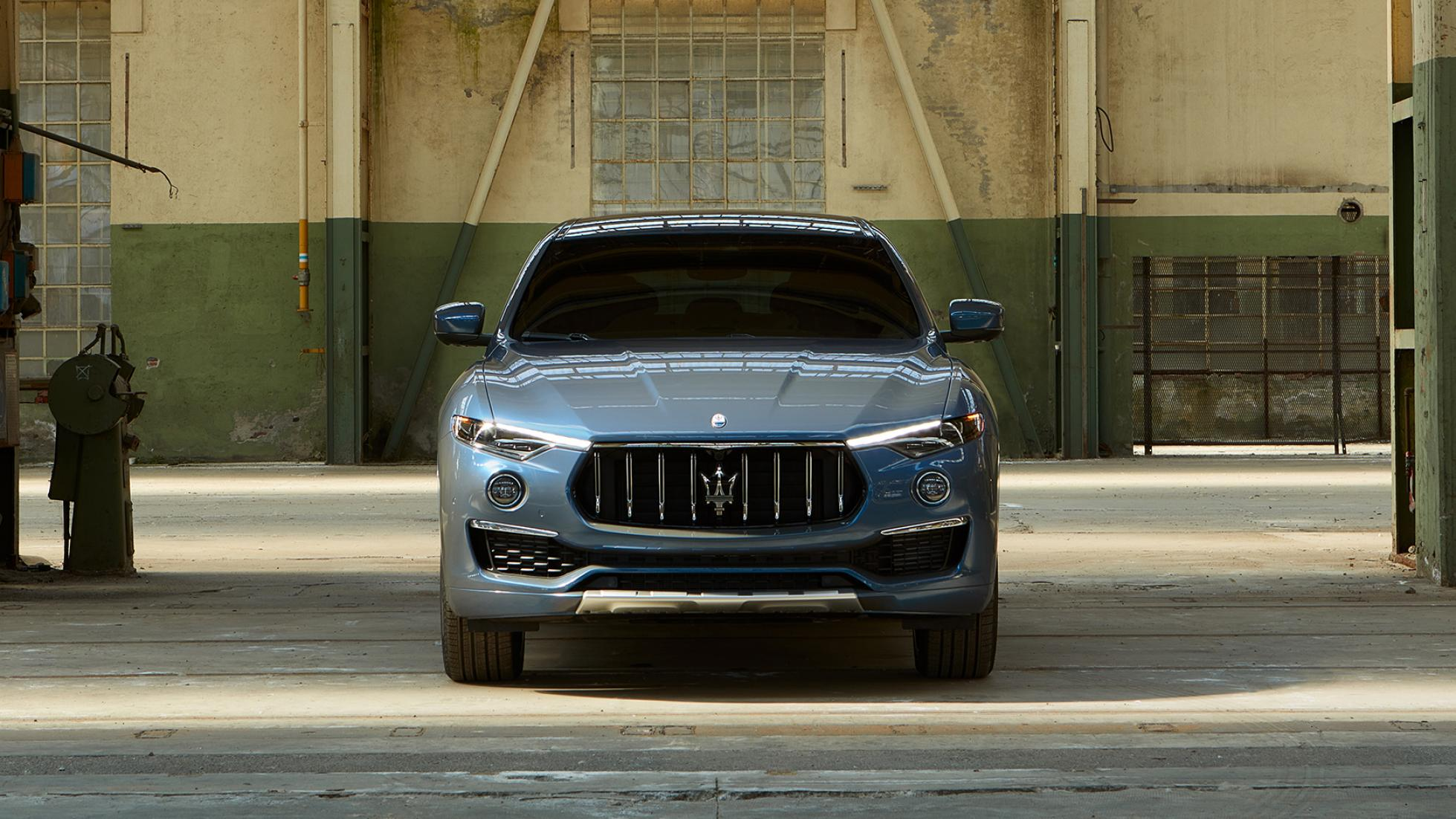 The Maserati Levante Hybrid Front View