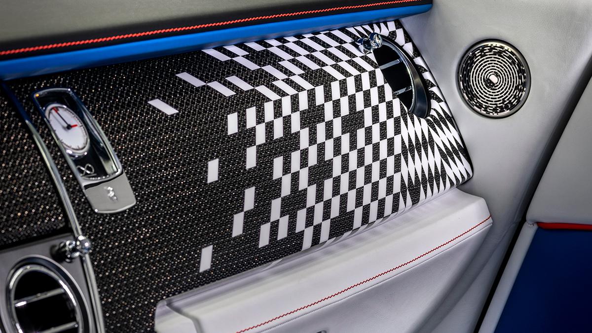 The Rolls-Royce Wraith Interior
