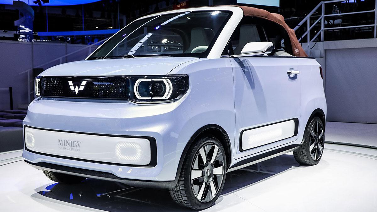 The Wuling Hong Guang Mini EV