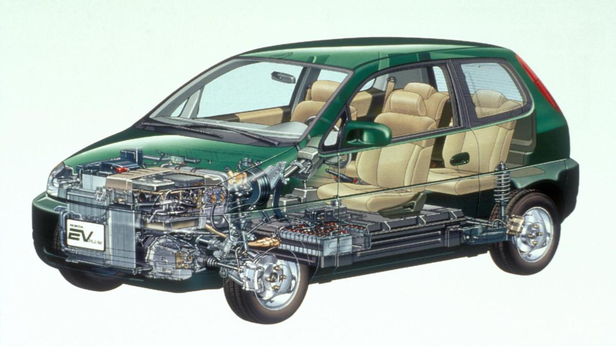 The Honda EV Plus