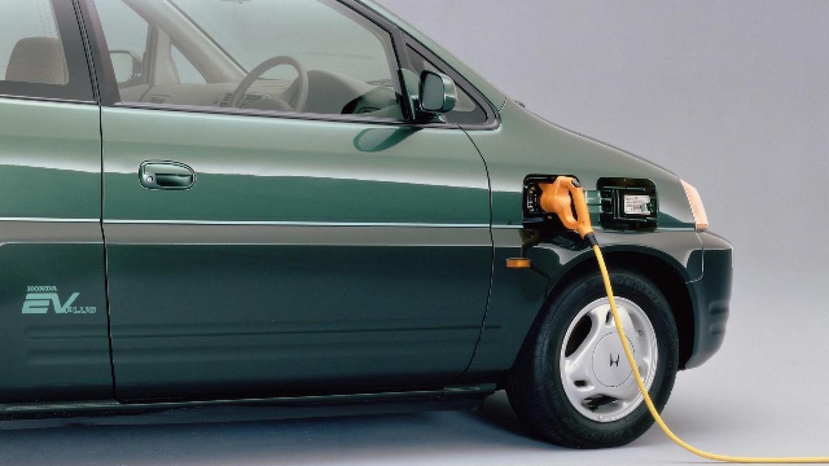 The Honda EV Plus Charging Mount