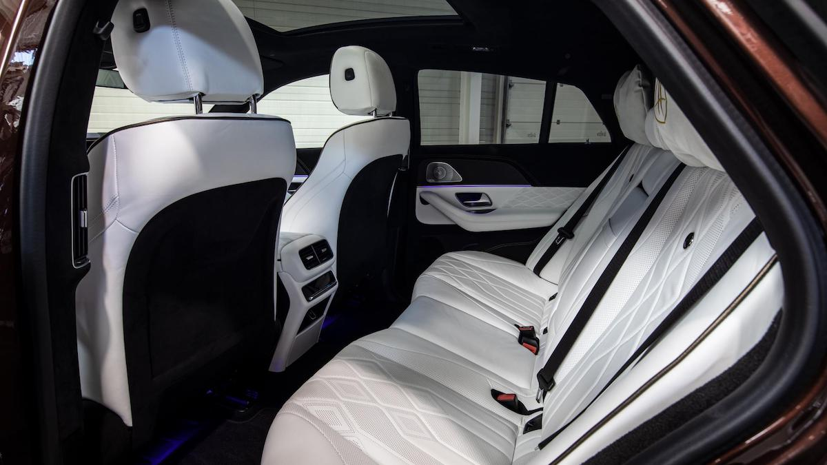The Hofele Ultimate HGLE Coupe Rear Passenger Seats