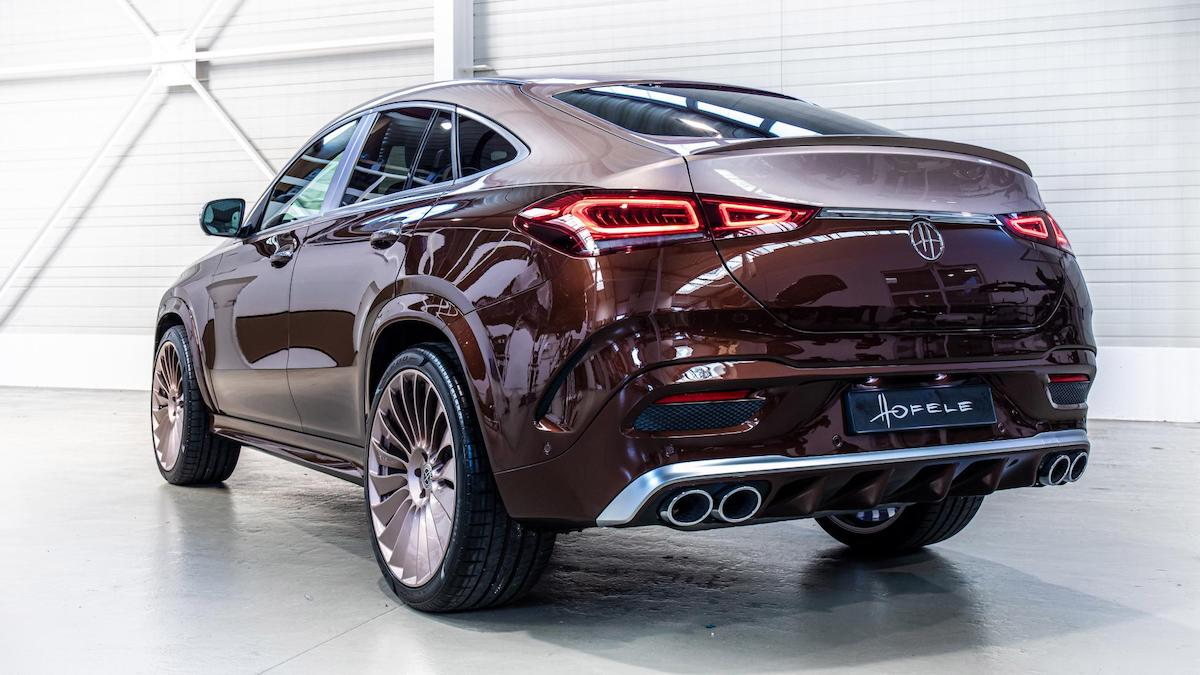 The Hofele Ultimate HGLE Coupe Angled Rear View