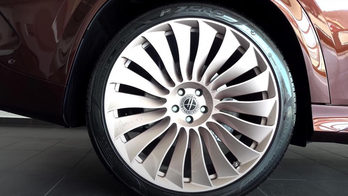 The Hofele Ultimate HGLE Coupe Rear Tire