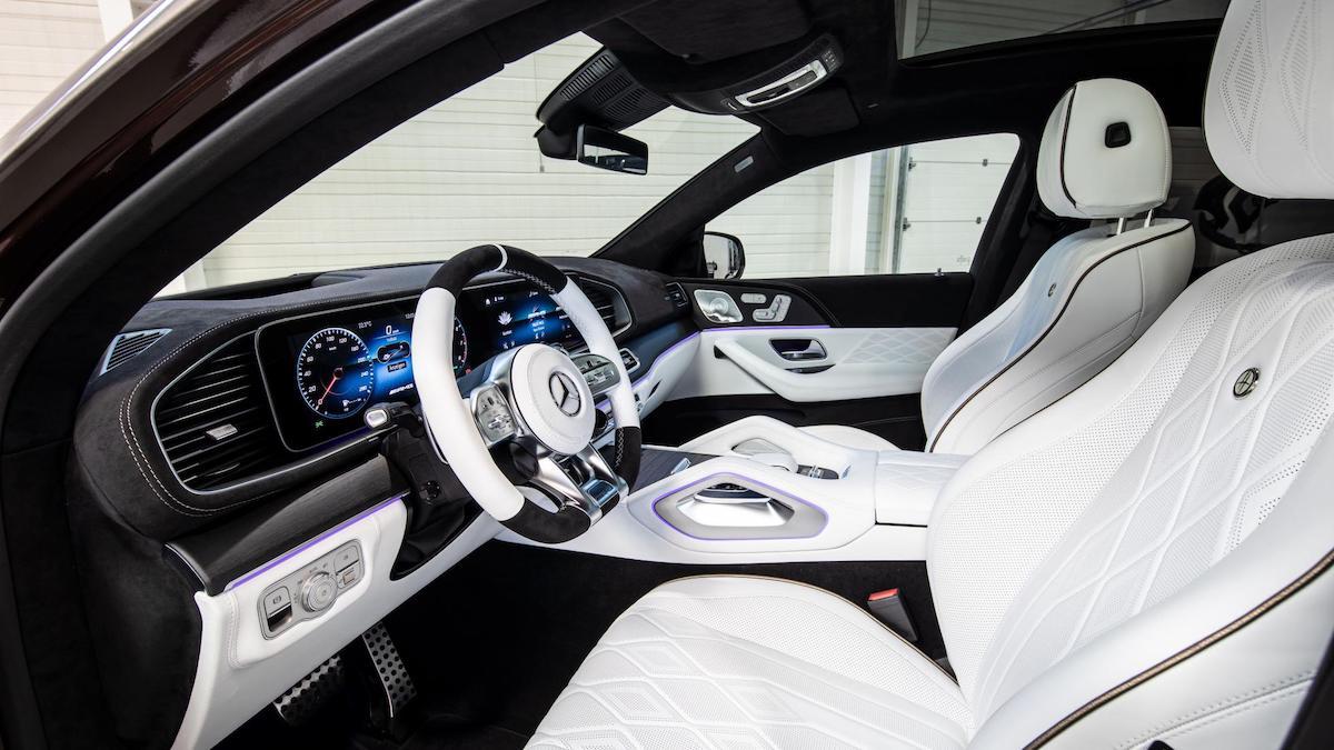 The Hofele Ultimate HGLE Coupe Interior