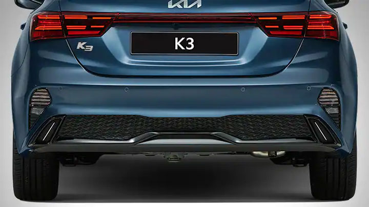 The Kita Forte Rear View