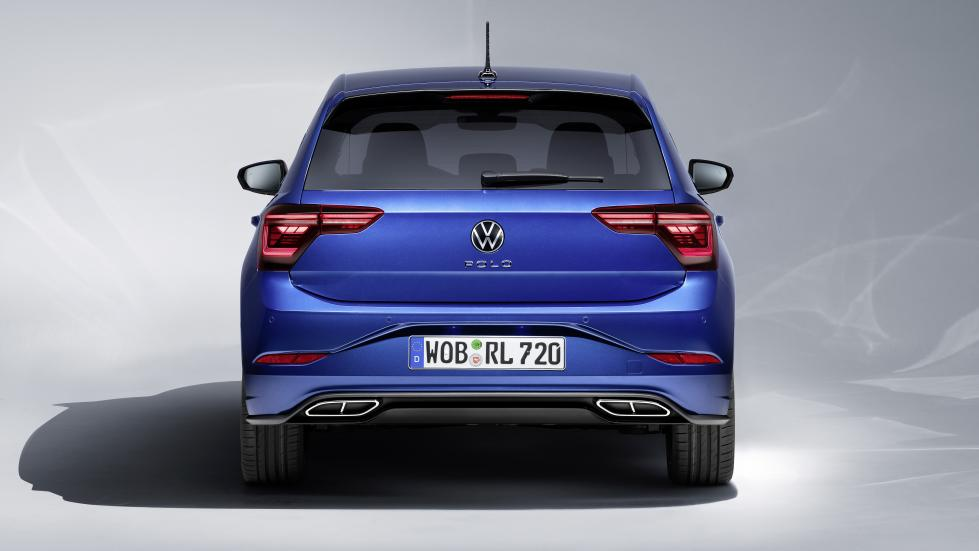 The Volkswagen Polo Rear View