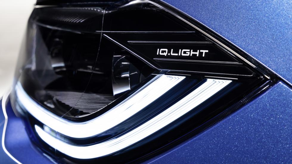 The Volkswagen Polo Head Lamp Close Up