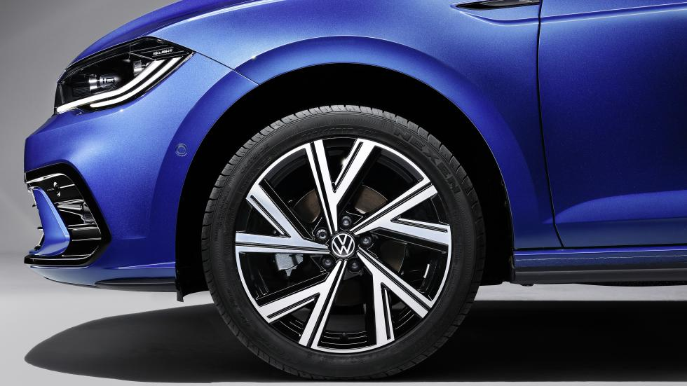 The Volkswagen Polo Front Tire