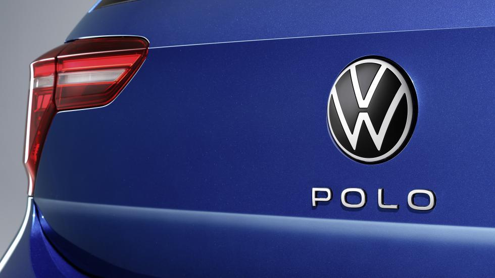The Volkswagen Polo Rear Emblem