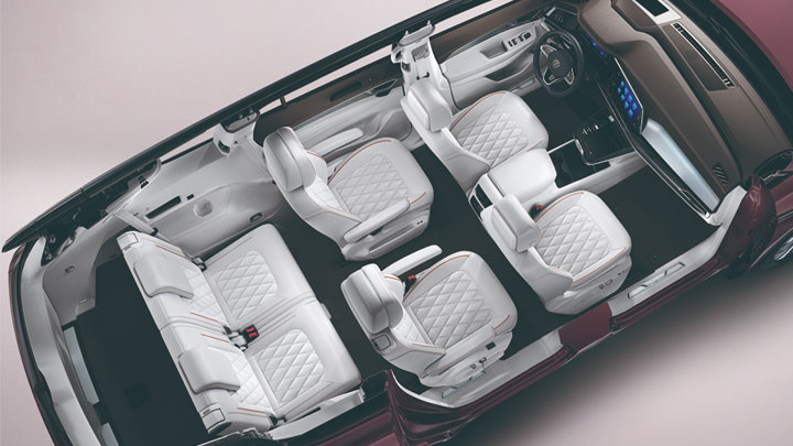 The Volkswagen Talagon Interior Space