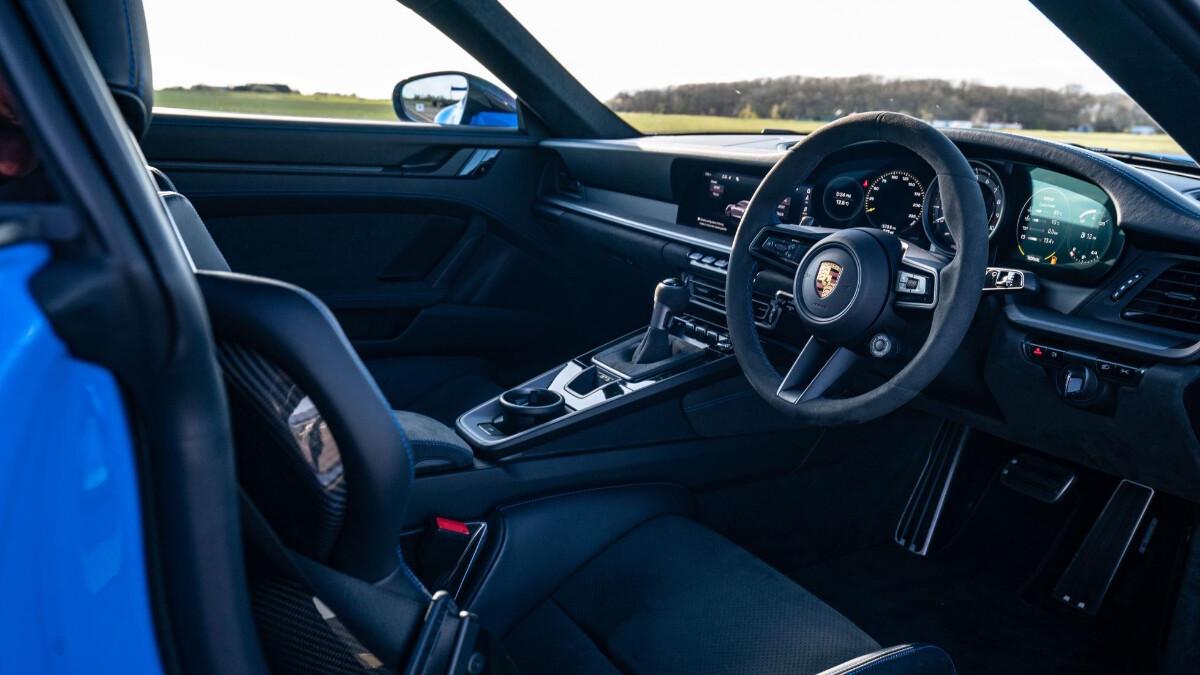 The Porsche 911 GT3 Dashboard
