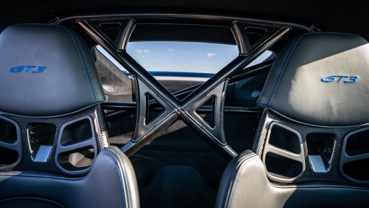 The Porsche 911 GT3 Passenger Seats