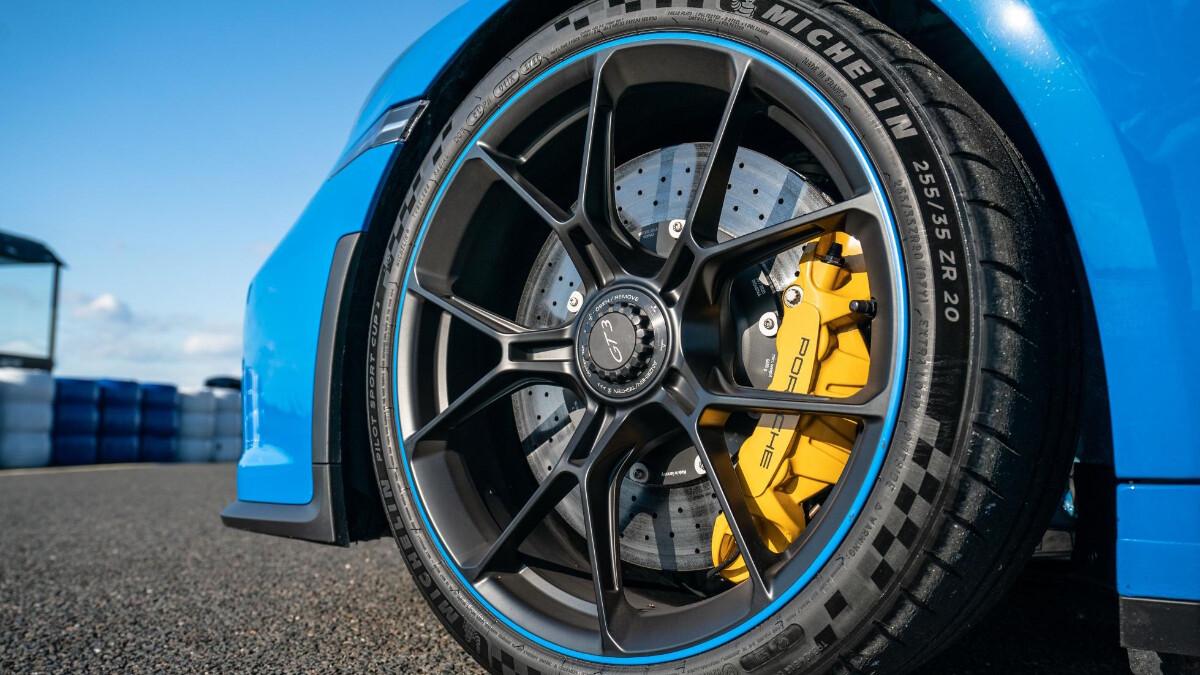 The Porsche 911 GT3 Front Tire