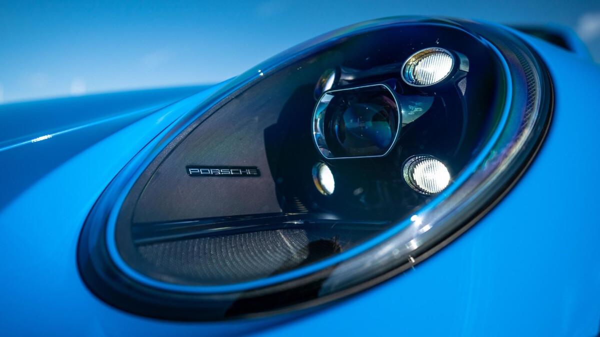 The Porsche 911 GT3 Head Lamp