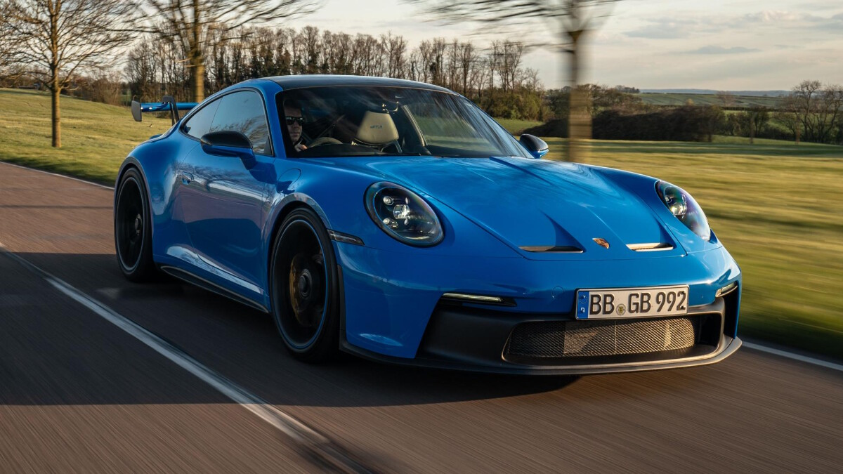 The Porsche 911 GT3 On the Road