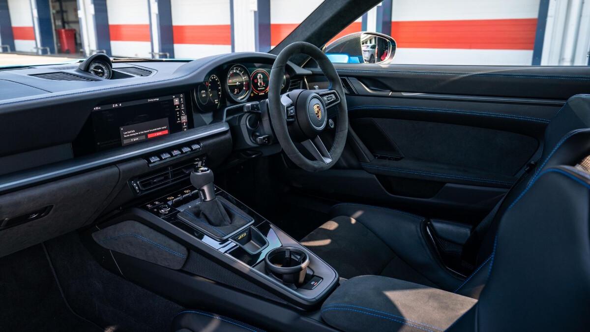 The Porsche 911 GT3 Dashboard Alternative Angle