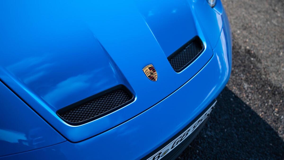The Porsche 911 GT3 Front Emblem