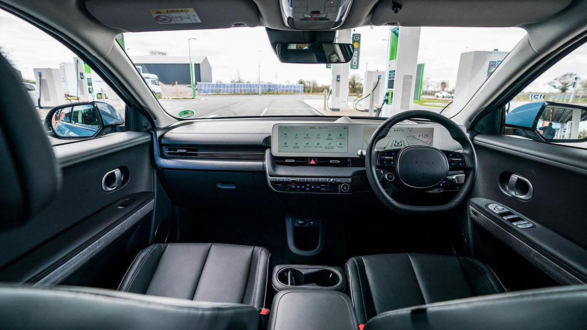 The Hyundai Ioniq 5 Dashboard