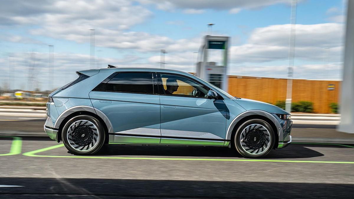 The Hyundai Ioniq 5 Profile