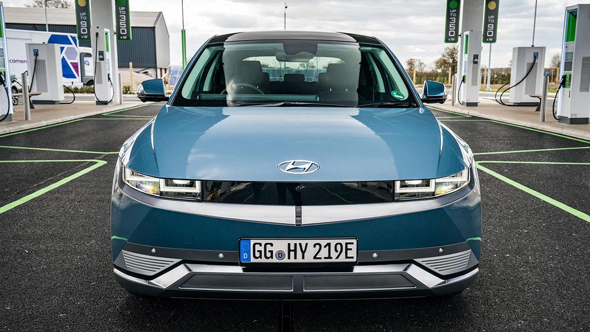 The Hyundai Ioniq 5 Profile Front View