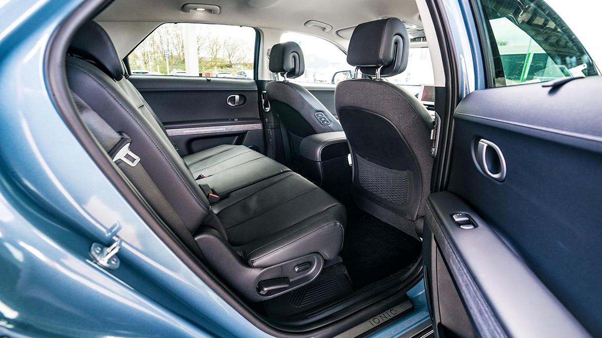 The Hyundai Ioniq 5 Profile Rear Passenger Seat