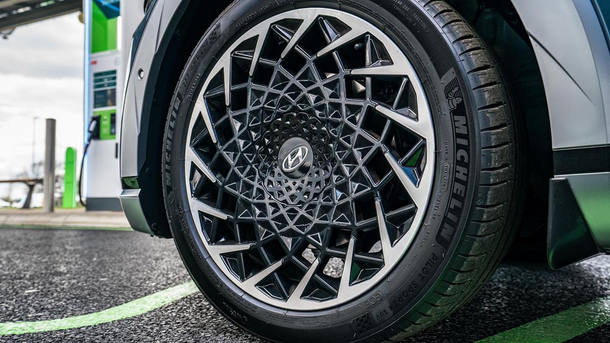 The Hyundai Ioniq 5 Rear Tire