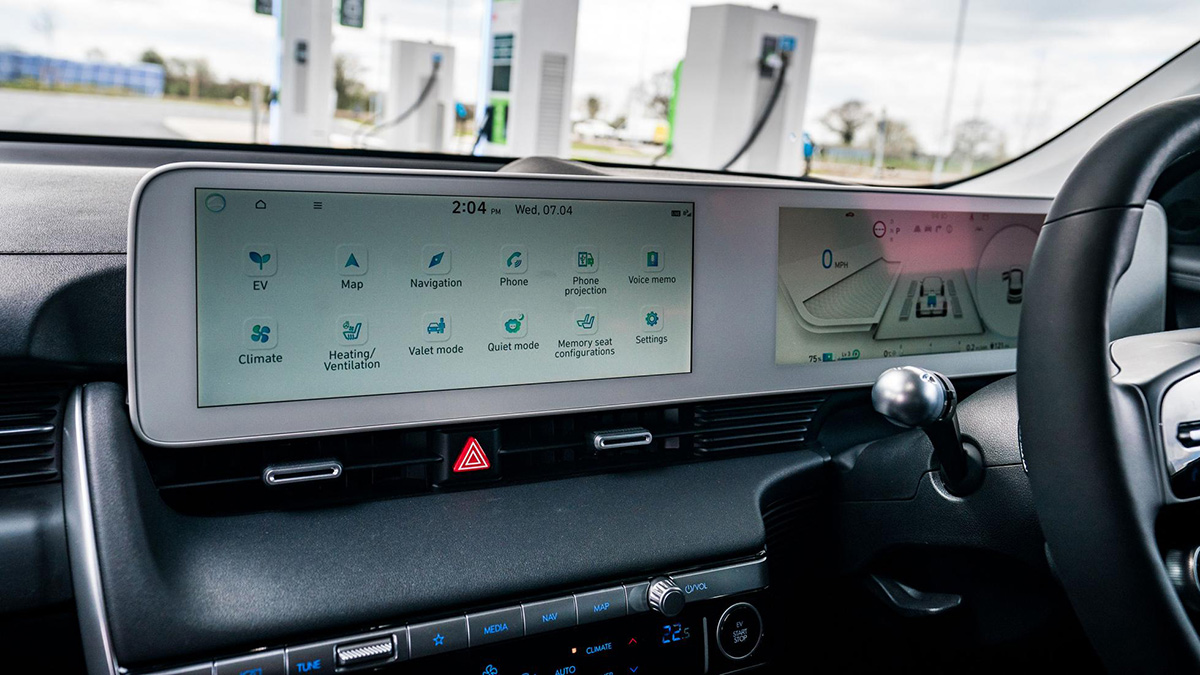 The Hyundai Ioniq 5 Infotainment System