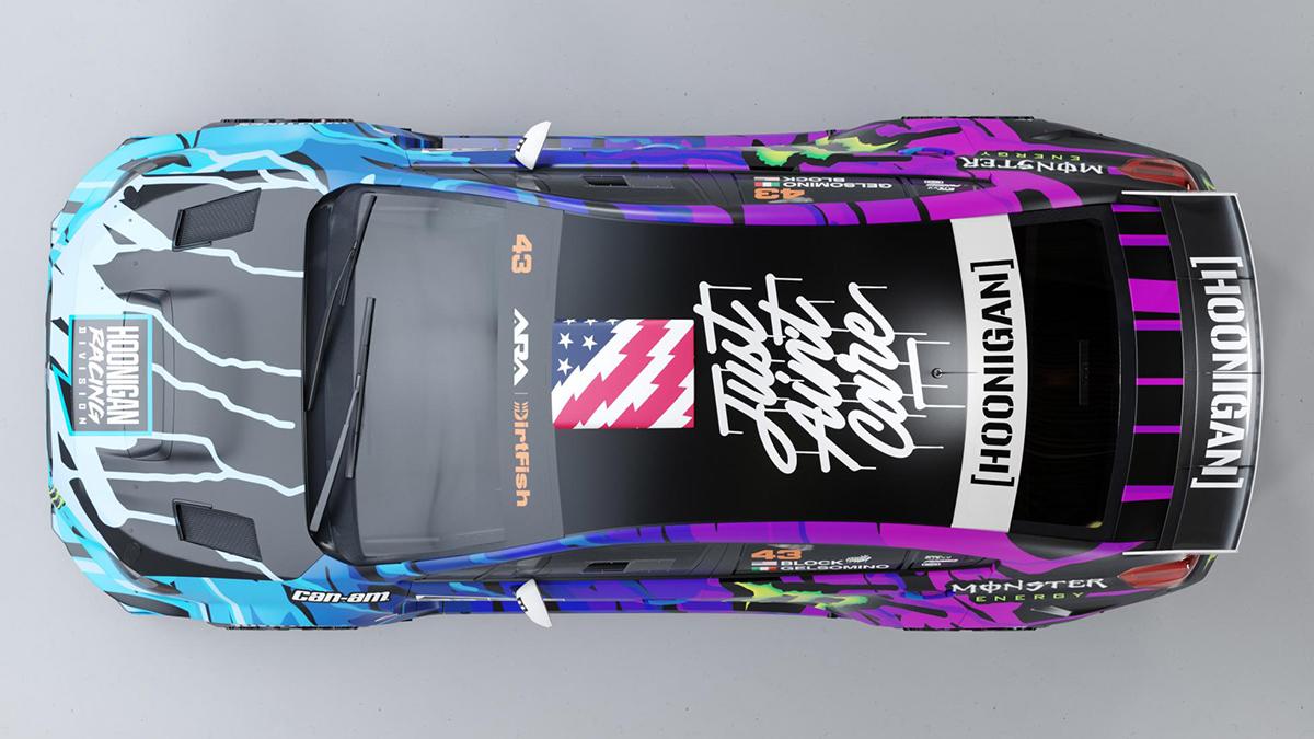 Ken Block's Subaru WRX STI Top View