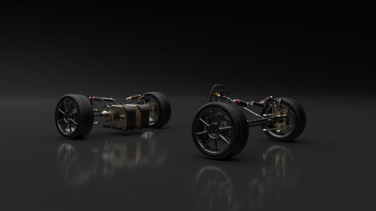 The Baltasar Revolt Front and Rear Wheel Systems