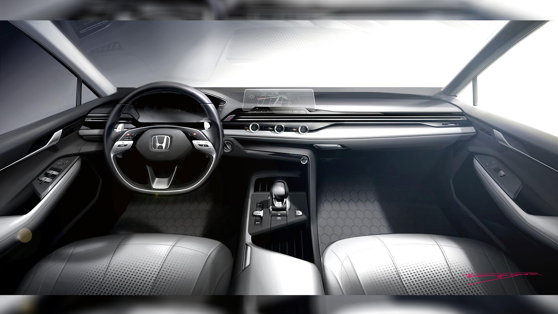 Honda previews next-gen interior design language