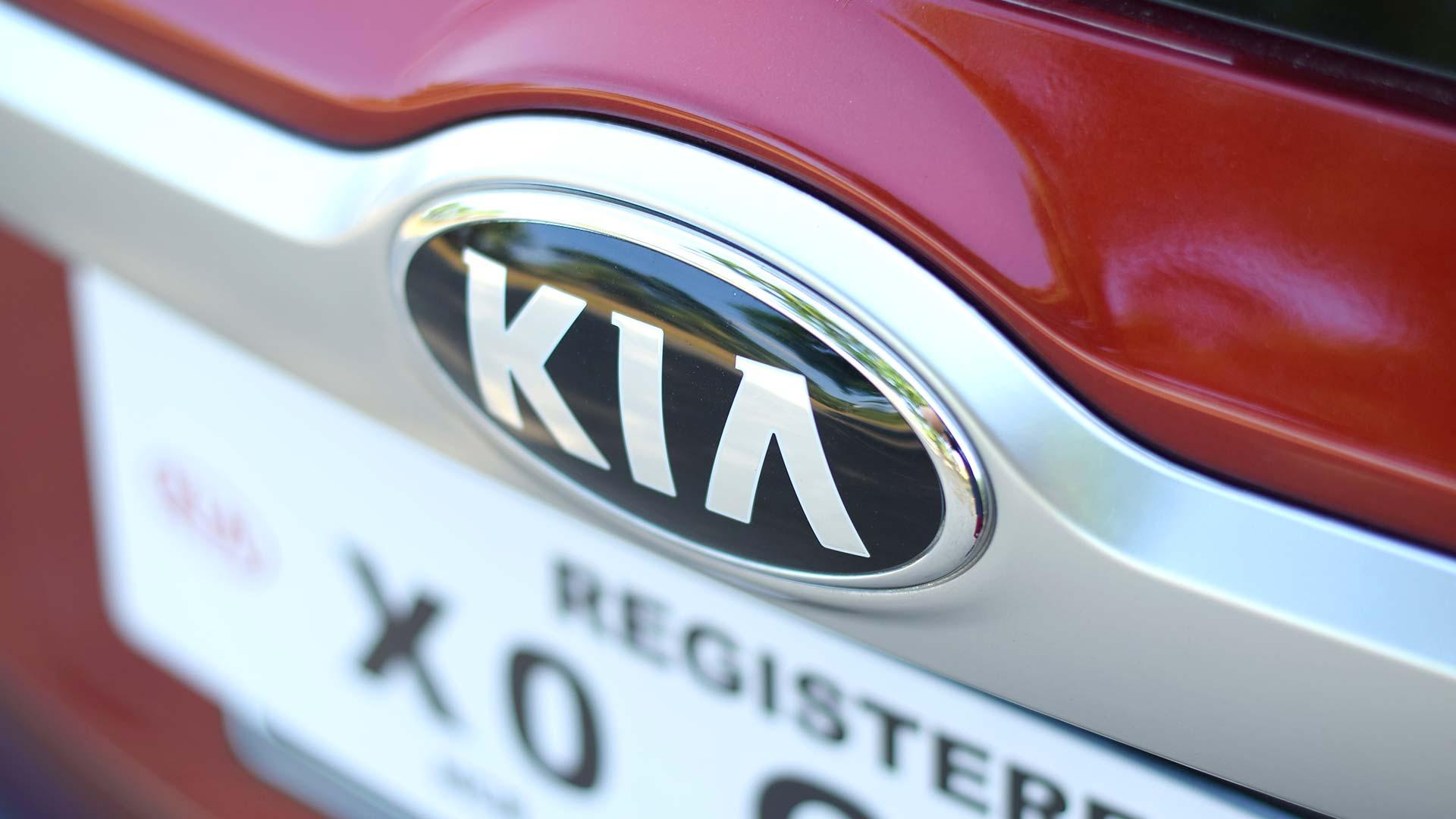 The Kia Seltos Emblem