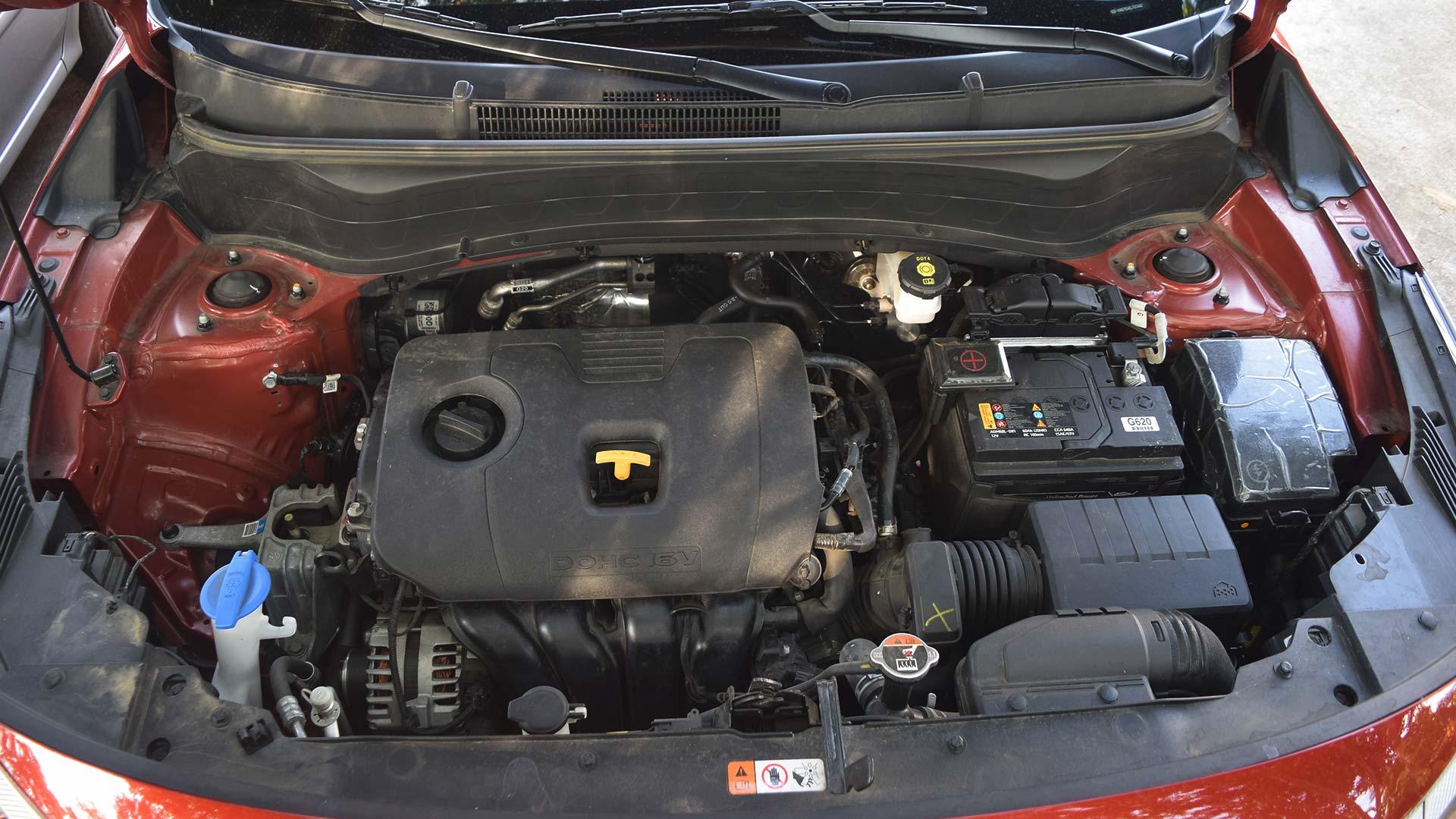 The Kia Seltos Engine