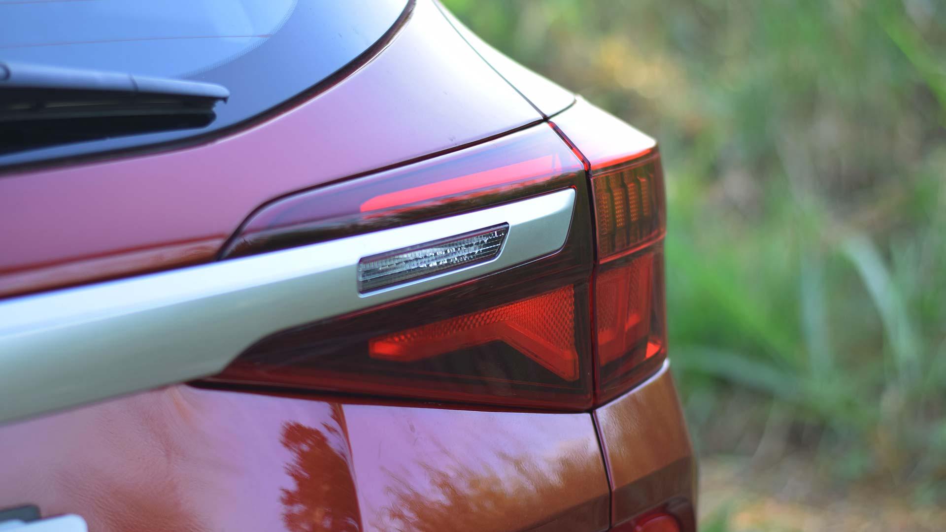 The Kia Seltos Tail Light