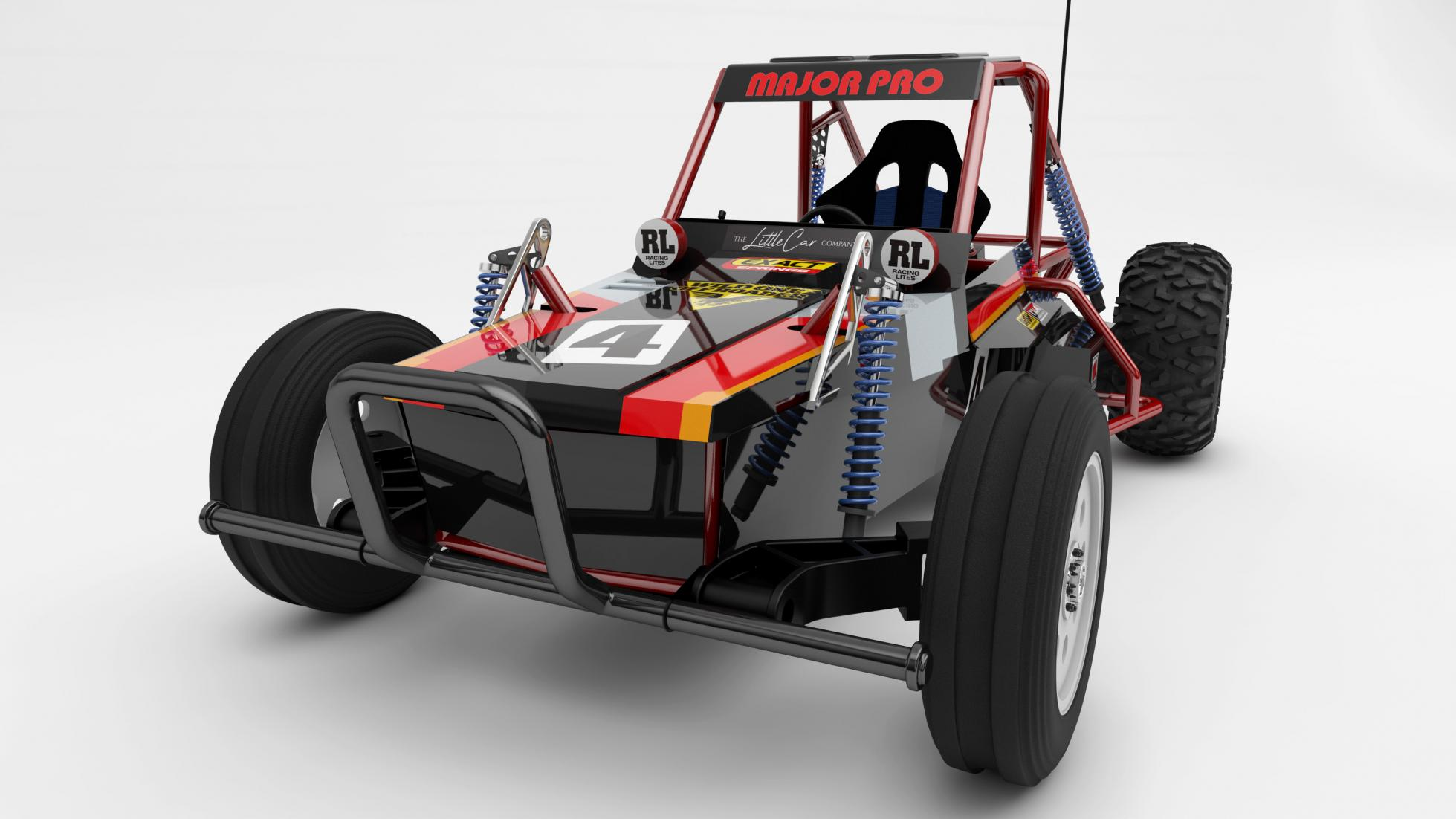 The Little Car Company x Tamiya Wild One MAX Front View