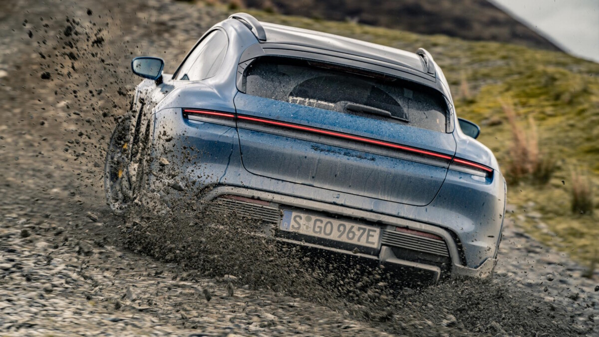 The 2022 Porsche Taycan Cross Turismo Front TIre
