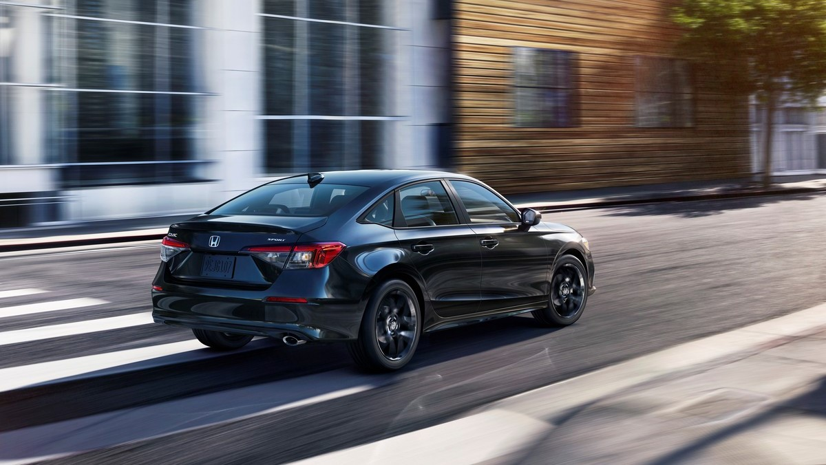 The 2022 Honda Civic On the Road