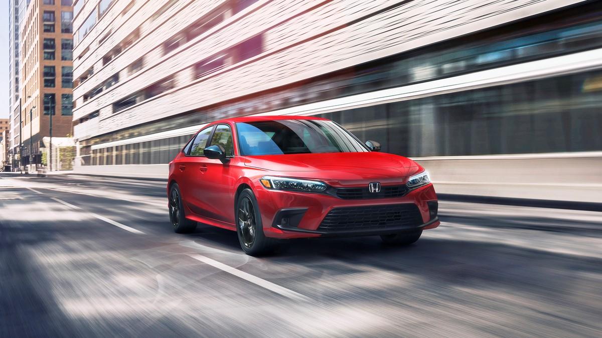 The 11th-generation Honda Civic makes its debut