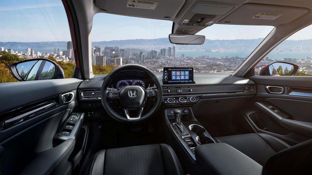 The 2022 Honda Civic Dashboard