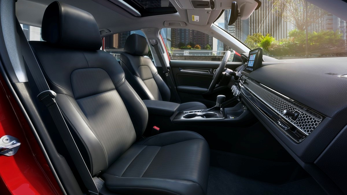 The 2022 Honda Civic Front Passenger Seats