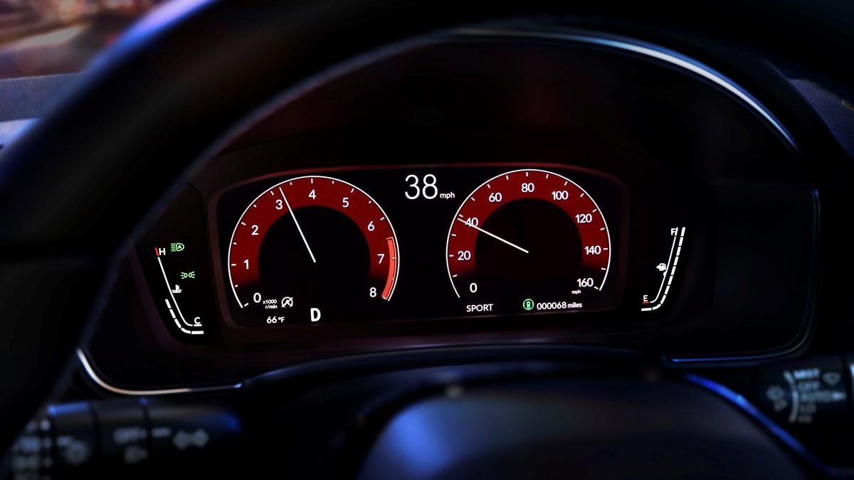 The 2022 Honda Civic Odometers