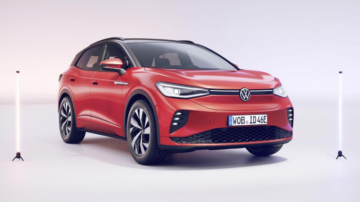 The 2022 Volkswagen ID.4 GTX