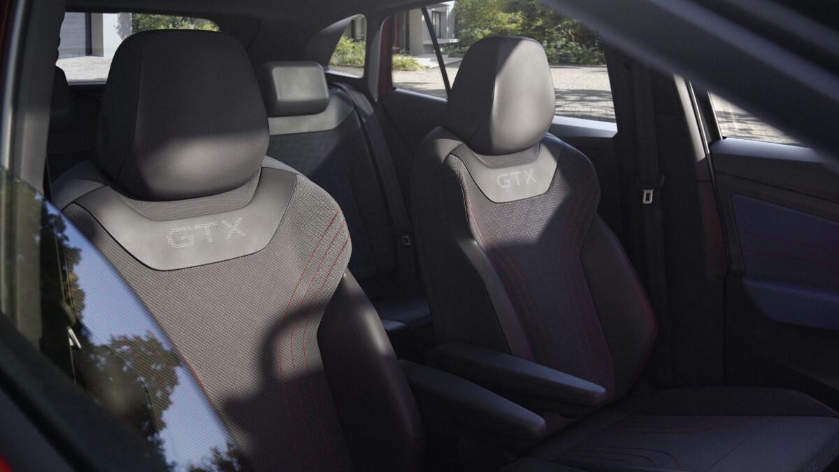 The 2022 Volkswagen ID.4 GTX Front Passenger Seats