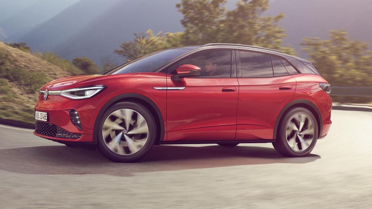 The 2022 Volkswagen ID.4 GTX Profile