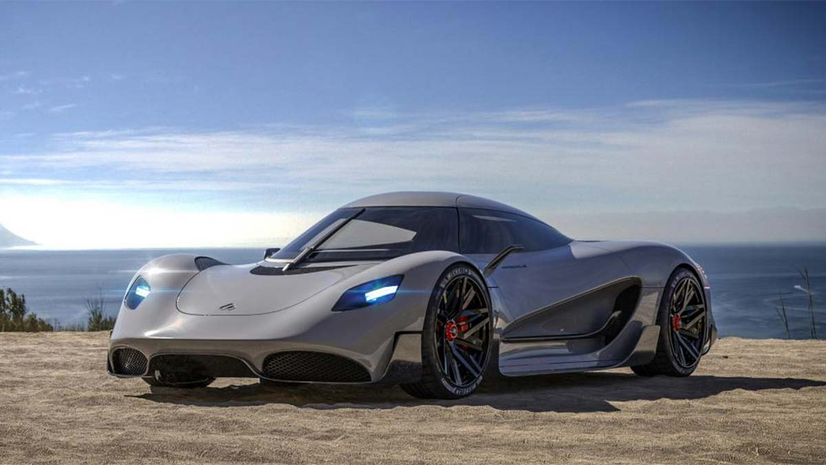 Meet the hydrogen-powered British hypercar, the Viritech Apricale