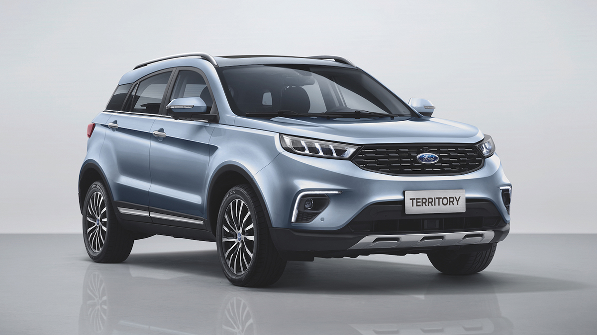 The 2021 Ford Territory