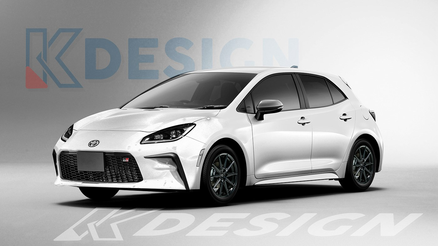 The Toyota 86 Redesigned as a Wagon