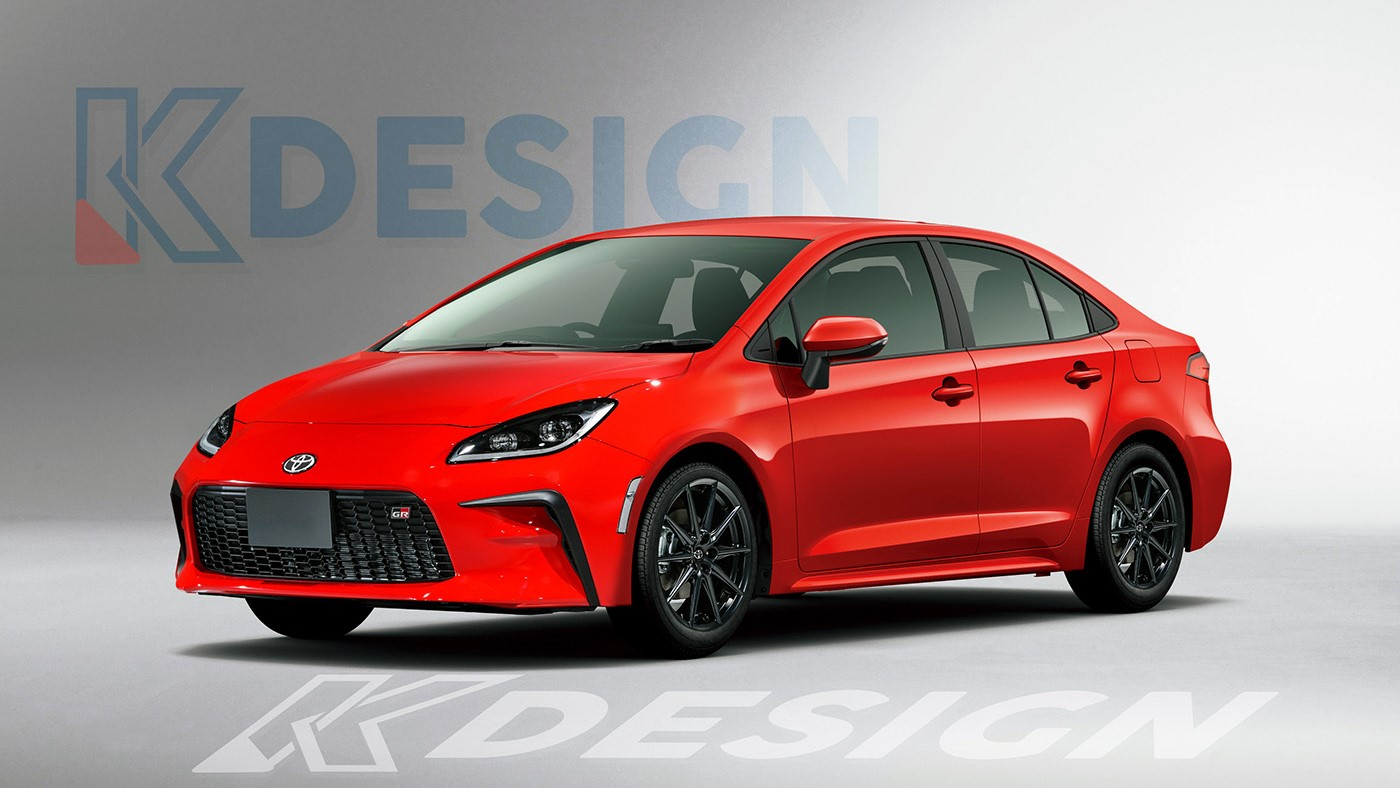 The Toyota 86 Redesigned as a Sedan