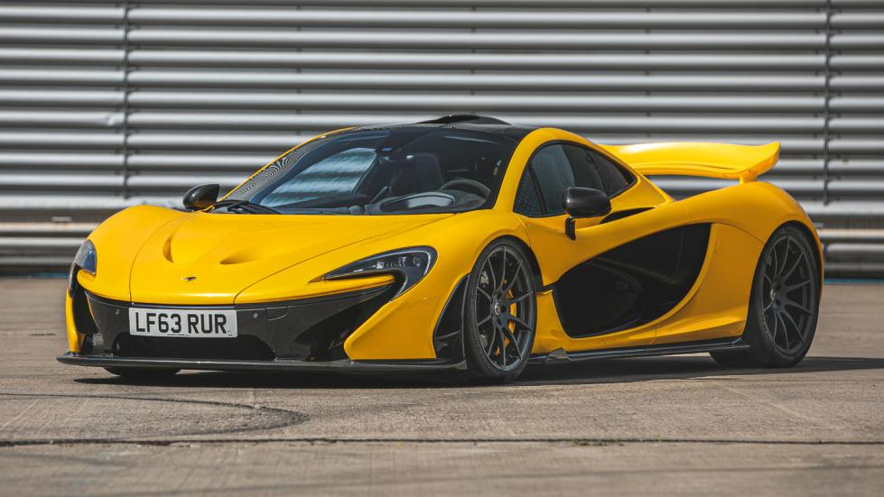The McLaren P1 Angled Front View