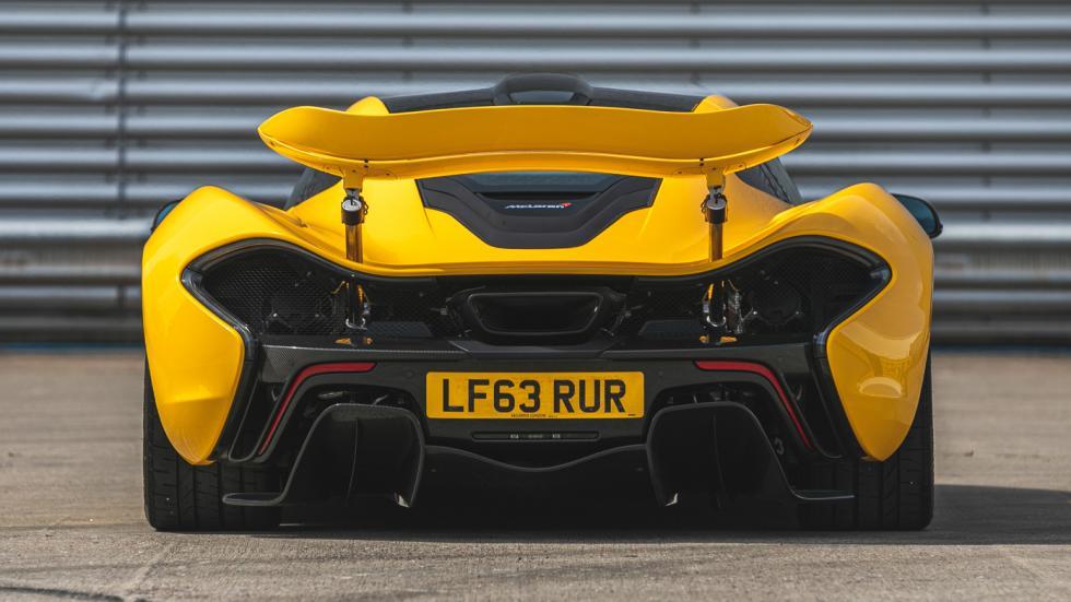 The McLaren P1 Rear View